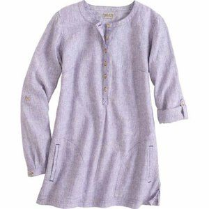 Duluth Trading Co Hemp Tunic